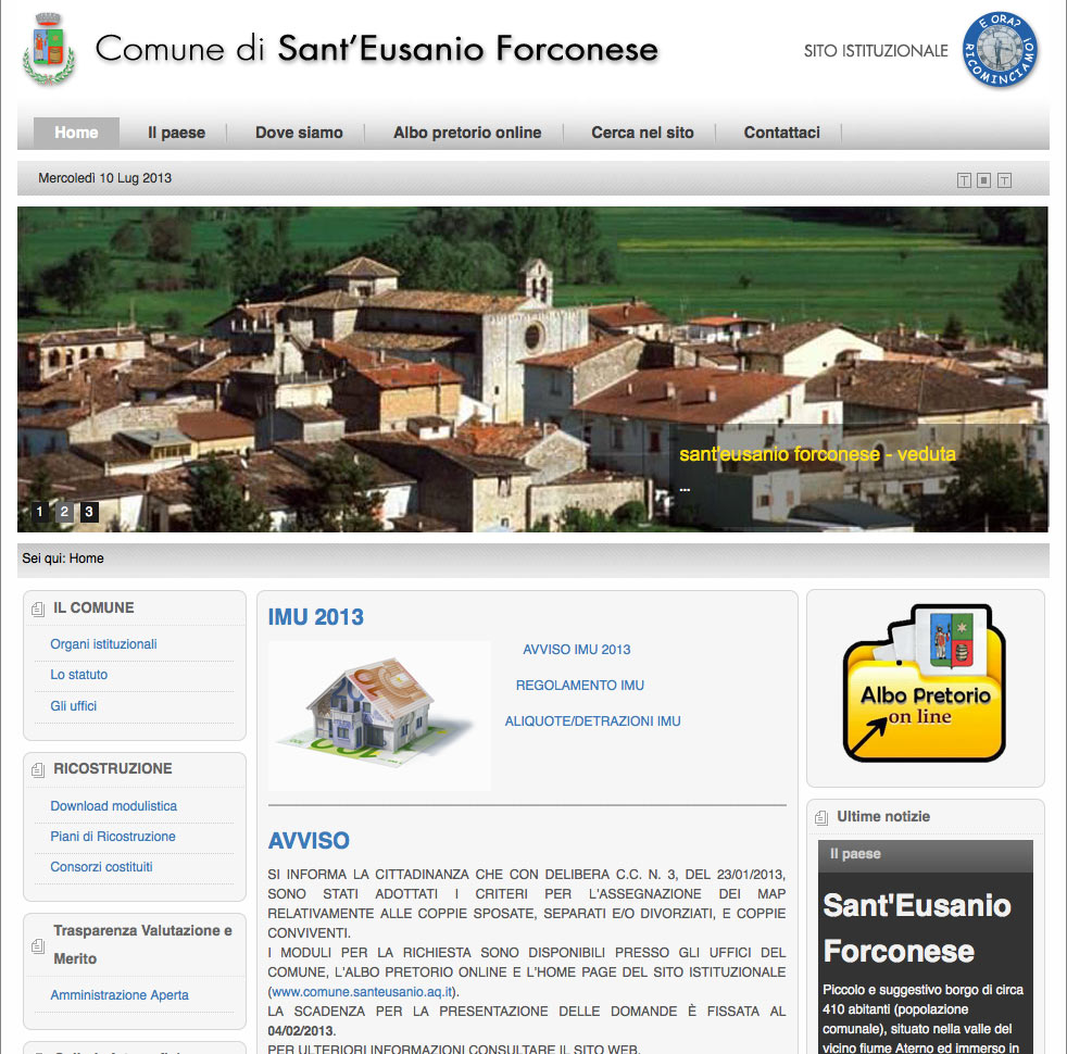 Comune Sant'Eusanio