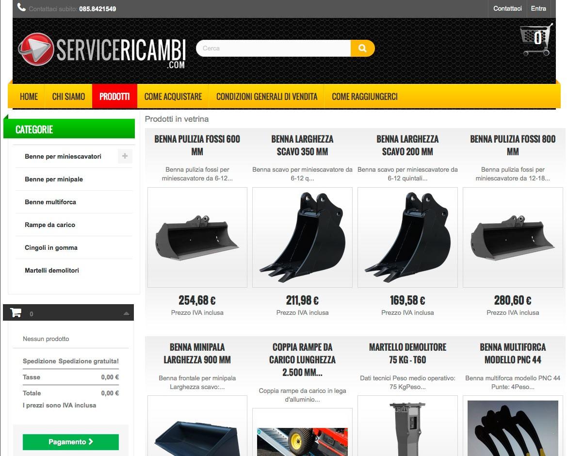 Service Ricambi